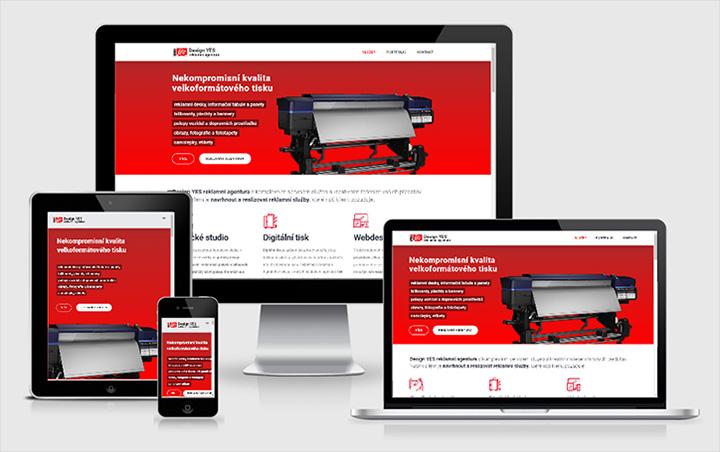 Web Design YES reklamní agentura