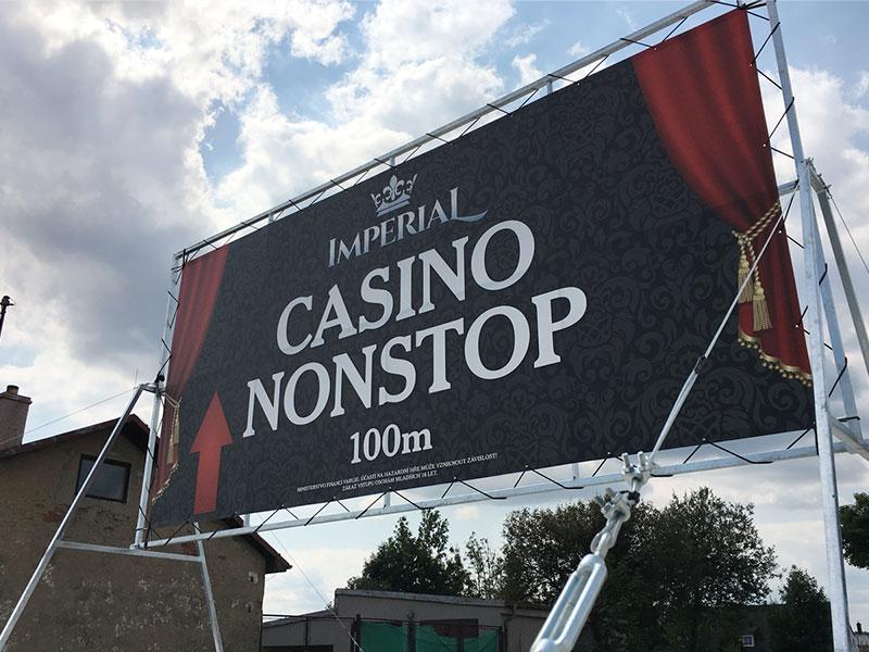 Mobilní billboard Casino